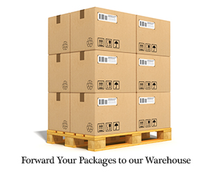 Forward Your Packages to Our Warehouse